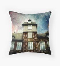La Maison à Colombages Throw Pillow