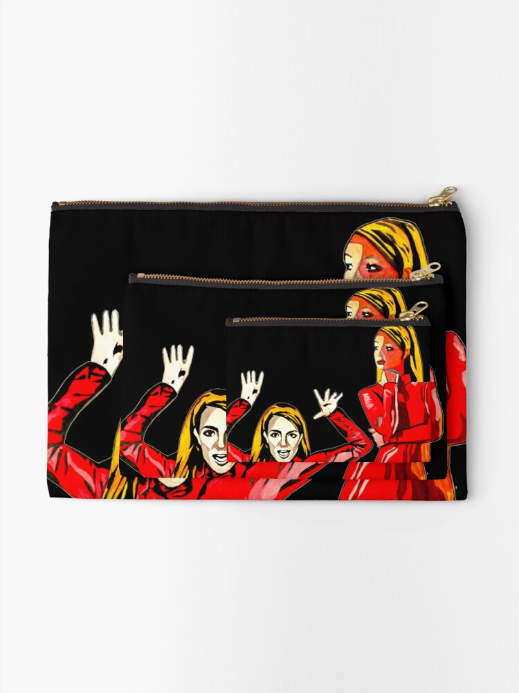 Alternate view of Oops 3 Zipper Pouch