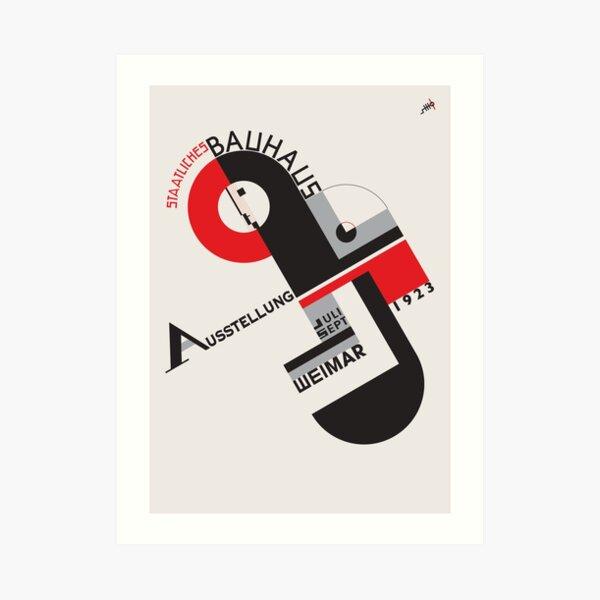 Bauhaus # 6 Kunstdruck