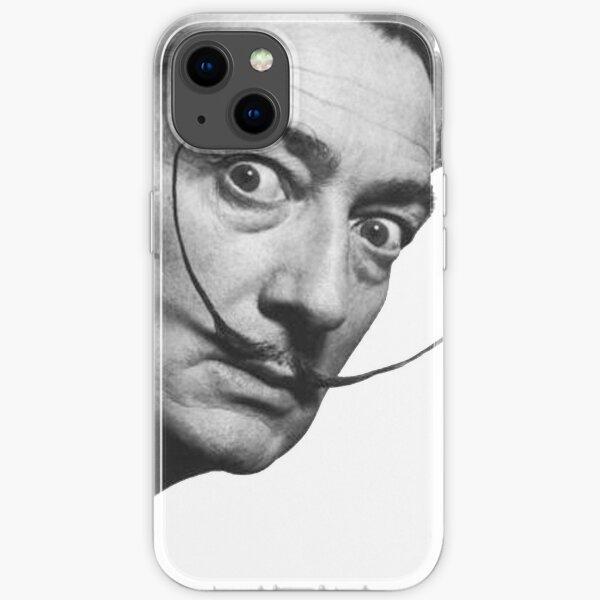 Salvador Dali. Portrait. iPhone Soft Case