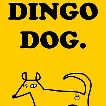 Hot dingo sticker 2 by strangerandfict