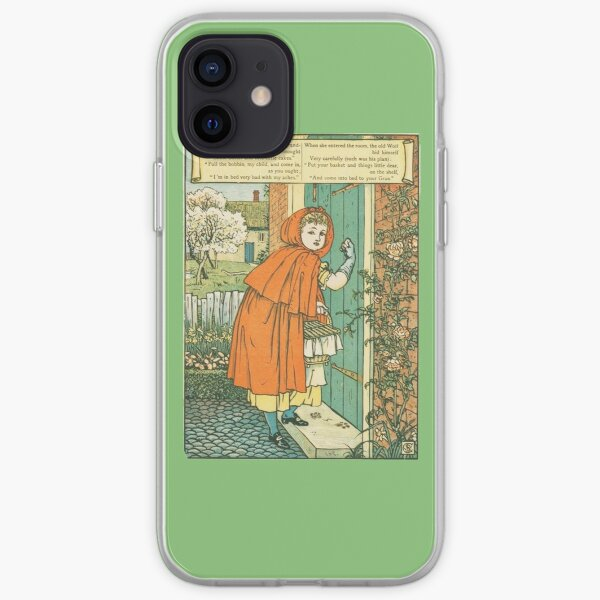 Little Red Riding Hood original illustration iPhone Soft Case