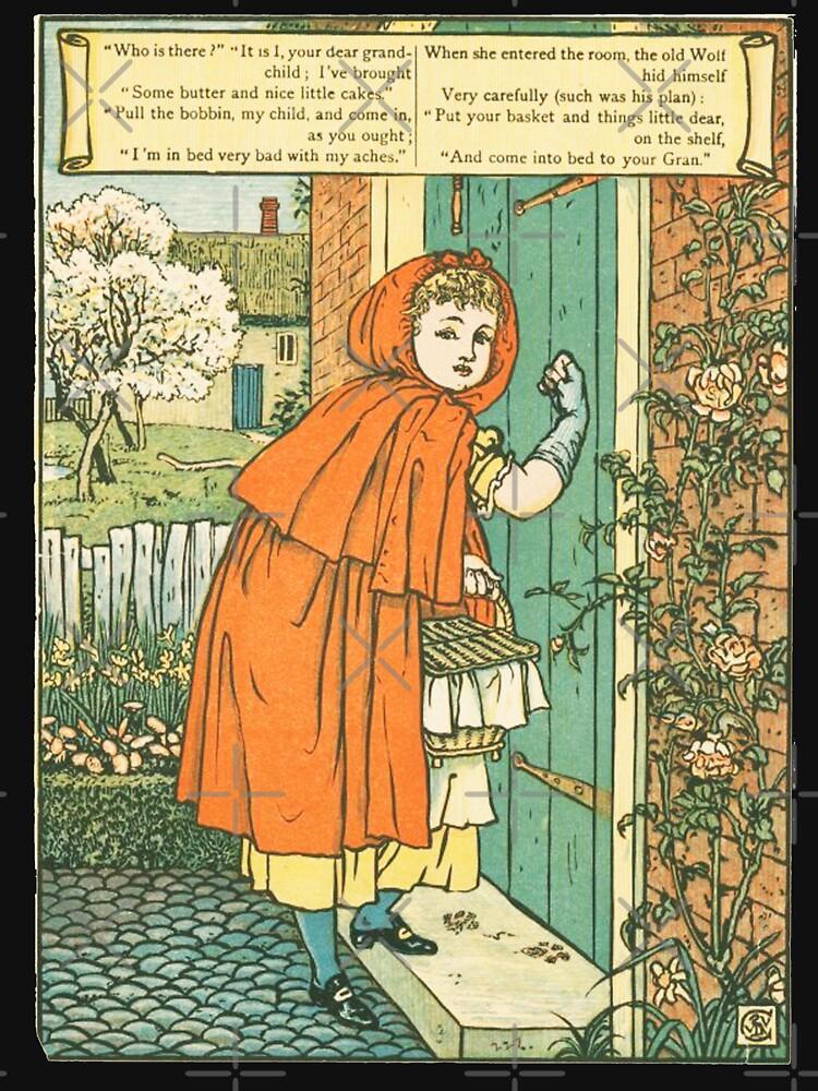 Little Red Riding Hood original illustration by buythebook86