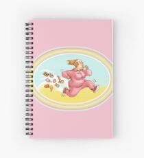 Burn calories with sport	 Spiral Notebook
