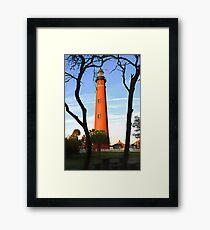 Ponce de Leon Light Framed Print