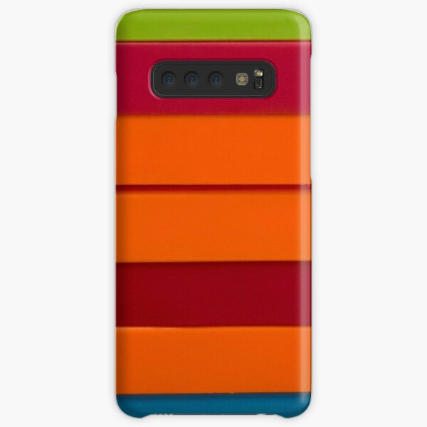 Colourful stripes Samsung Galaxy Snap Case