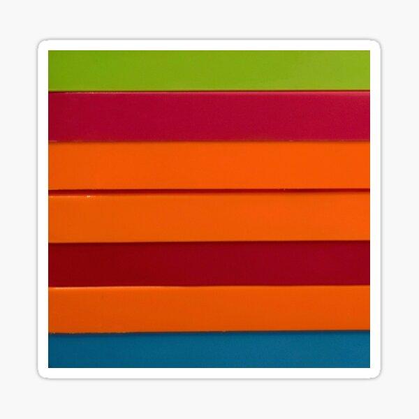 Colourful stripes Sticker