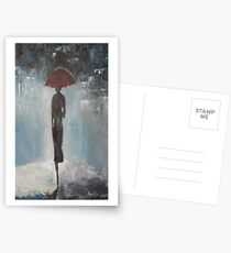 Alone in the night Postcards