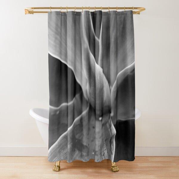 Black Agave  Shower Curtain