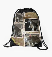 Sassy Framed! Drawstring Bag