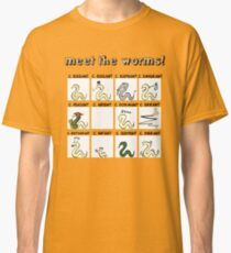 meet the worms Classic T-Shirt