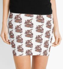 Dragon tattoo  Mini Skirt