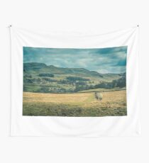 Yorkshire Dales Lone Sheep Wall Tapestry