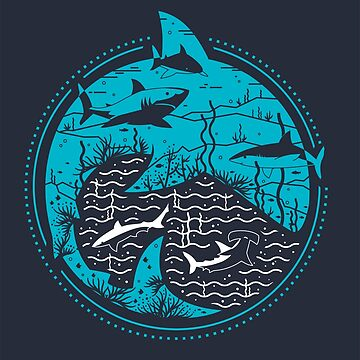 Sharks by claudiasantos82