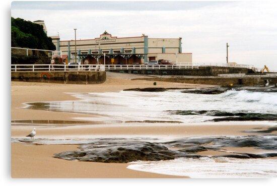 Newcastle Beach by Cheryl Parkes