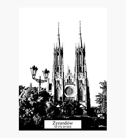 Zyrardow minimal city #zyrardow Photographic Print