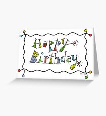 Sparkling Birthday  ll - card Greeting Card
