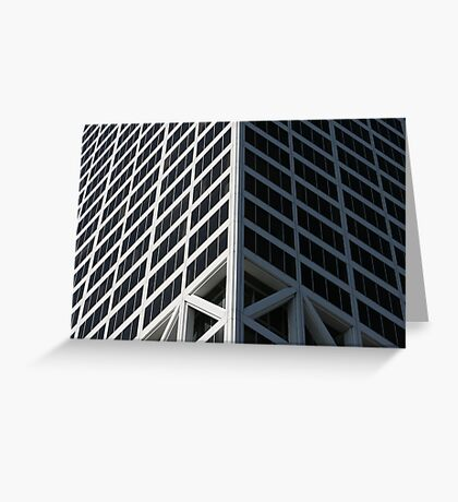 Corner Offices Greeting Card