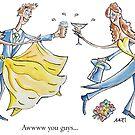 You're Married - Jokertoons Wrap by Jokertoons
