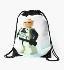 Lego clone Drawstring Bag