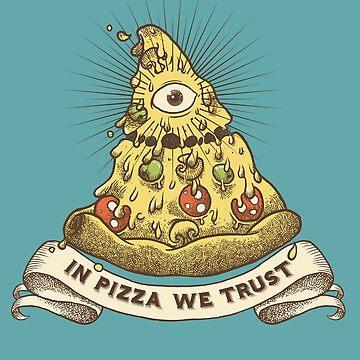 Auf Pizza vertrauen wir von spike00