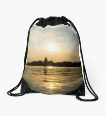 Oulton Broad Sunset Drawstring Bag