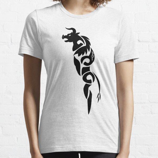 Gothic Black Minotaur Essential T-Shirt