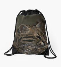 Ocelot Drawstring Bag