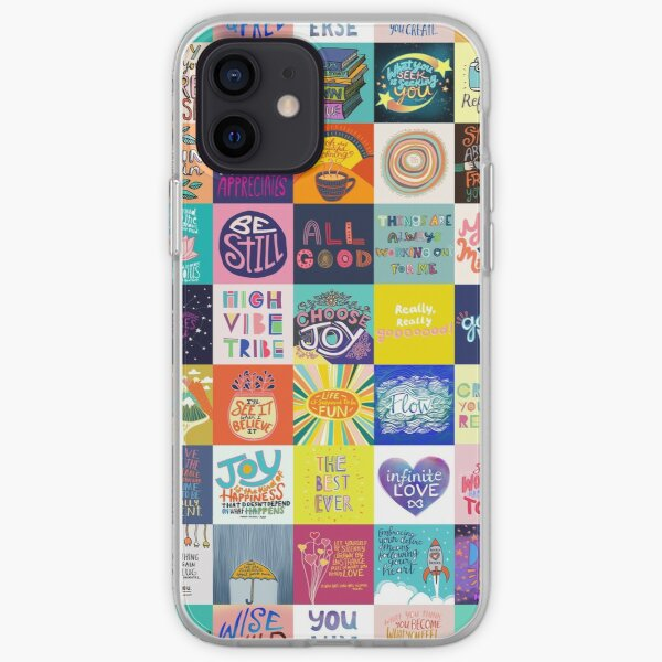 Positivity Patchwork iPhone Soft Case