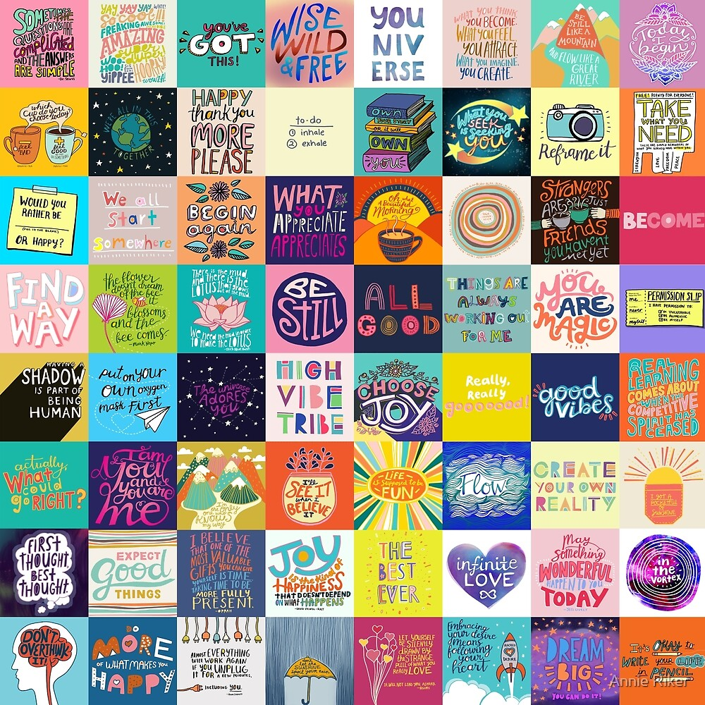 Positivity Patchwork by Annie Riker