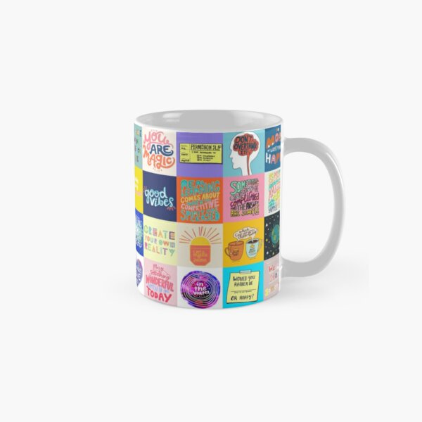 Positivity Patchwork Classic Mug