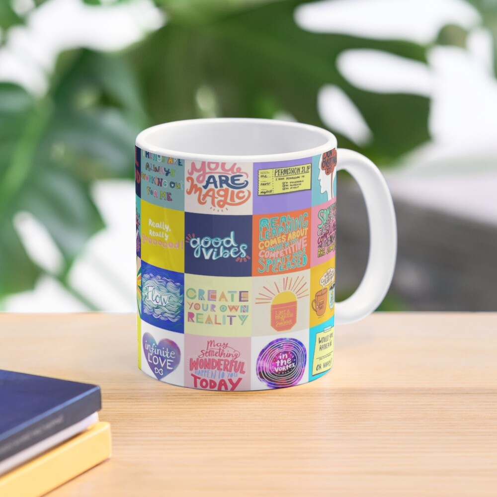 Positivity Patchwork Mug