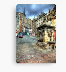 Grassmarket - Edinburgh Canvas Print