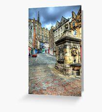 Grassmarket - Edinburgh Greeting Card