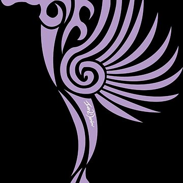 Gothic Purple Unicorn by Ian2Danim