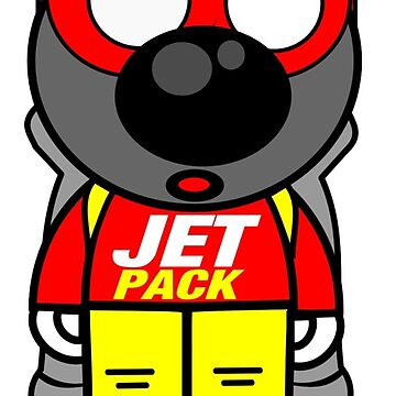wolf jet pack by lebarbu