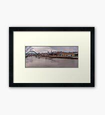 The River Tyne Framed Print
