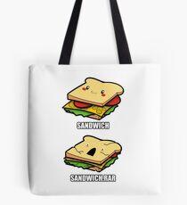 Cute Sandwich Nerd Tote Bag