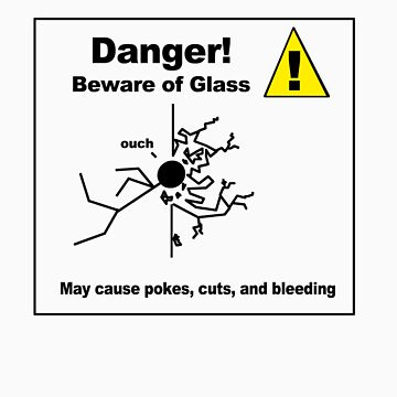 Danger! Beware of Glass by soyouresaying