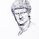 Nero small (Roman Emperor) (Series Ancient Rome) by Alessandro Nesci
