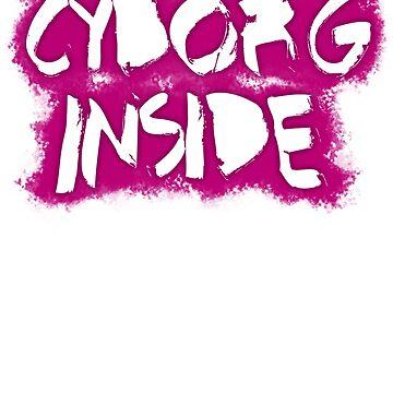 Cyborg Inside (Pink) by FejuLegacy