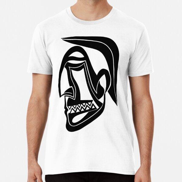 Maske Totem Krieger Premium T-Shirt