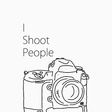 I shoot people (camera)  by jollence