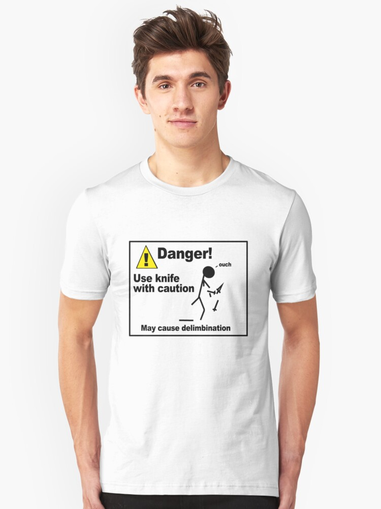 Danger! Use Knife with Caution by soyouresaying