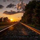 Gold on the Rails by thestormworks