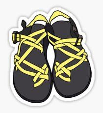 Pegatina Chacos Sandals Yellow