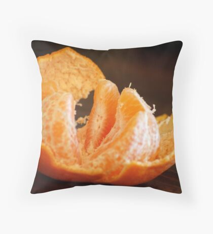 TANGERINE - one of my favorites! Throw Pillow