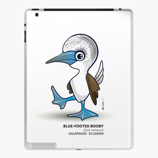 Blue Footed Booby iPad Skin