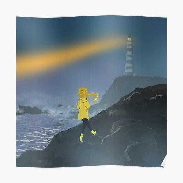 Lighthouse walk Poster