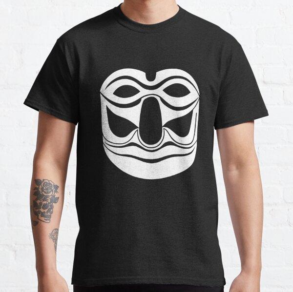 Maske Totem Geist weiss Classic T-Shirt